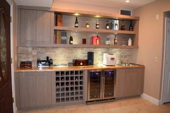 Custom Formica Cabinets